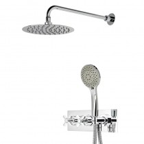 Wessex Dual Function Shower System with Shower Head and Handset