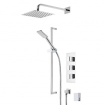 Hydra Triple Function Shower System with Smartflow Bath Filler