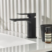 Elate Basin Mixer Black