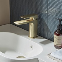 Elate Basin Mixer Brass Finish