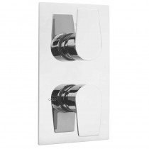 Ashdown Concealed 2 Way Thermostatic Shower Valve Chrome
