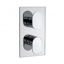 LA3 Recessed Thermostatic Shower Valve 2 Way