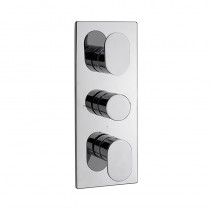 LA3 Recessed Thermostatic Shower Valve 3 Way