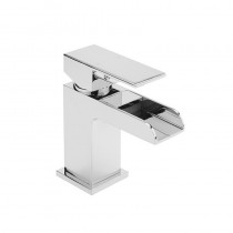Lingfield Basin Mixer with Sprung Waste Chrome