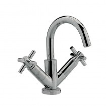 Tec Crosshead Mono Basin Mixer with Small Spout