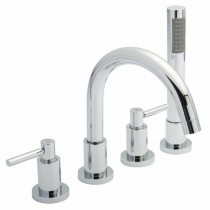 Tec Lever 4 Hole Bath Shower Mixer