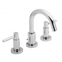 Tec Lever 3 Hole Basin Mixer