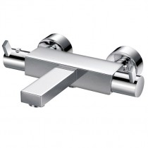 STR8 Thermostatic Wall Bath Shower Mixer