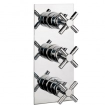 Totti Thermostatic Shower Valve with 2 Way Diverter and Shut Off Valve