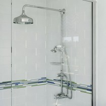 Trinity Thermostatic Dual Control Shower Valve & Diverter Rigid Riser