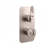 Crosswater Union Single Outlet Thermostatic Shower Valve Lever Control