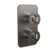 Crosswater Union Thermostatic Shower Valve with 2 Way Diverter Wheel Control