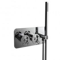 Union Shower Valve 2 Way Diverter and Handset Chrome