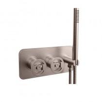 Union Shower Valve 2 Way Diverter and Handset Brushed Nickel