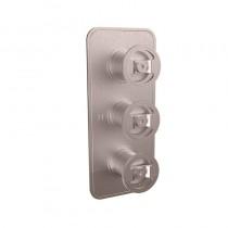 Union Shower Valve 2 Way Diverter Chrome 3 Control Brushed Nickel