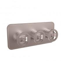 Union Shower Valve 2 Way Diverter Chrome 3 Control Landscape Brushed Nickel