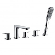 Urban 5 Hole Bath Shower Mixer
