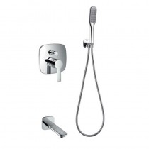 Urban Manual Shower Mixer Set with Handset and Spout