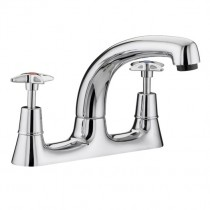 X-Head Utility Deck Sink Mixer