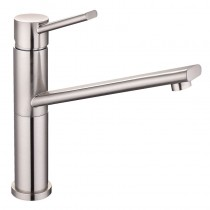 Velorum Top Lever Mixer With Swivel Spout Brushed Nickel