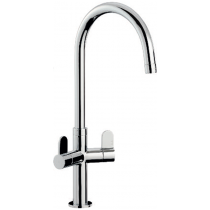 Verla Monobloc Sink Mixer Chrome