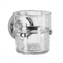Villa Wall Mounted Glass Tumbler And Holder