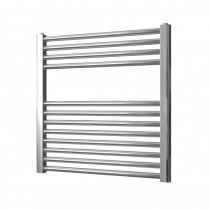 Vogue UK Axis 600 x 600 Straight Chrome Towel Rail