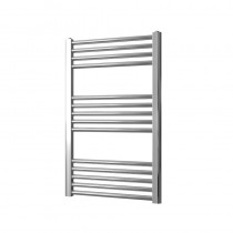 Vogue UK Axis 800 x 500 Straight Chrome Towel Rail