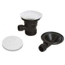 Bristan Round Clicker Bath Waste with Overflow