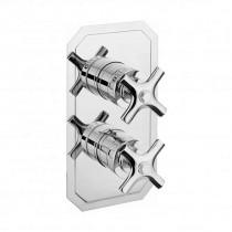 Crosswater Waldorf Crosshead Thermostatic Shower Valve