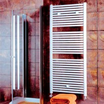 Design Flat 600 x 800 White Towel Rail