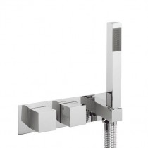 Water Square Shower valve with Handset