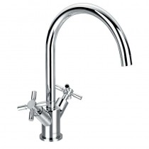 Flova XL Two Handle Kitchen Mixer