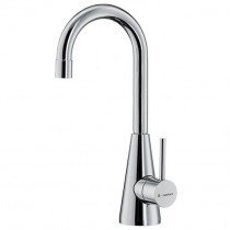 Ycon Cold Rinse Tap Brushed Steel