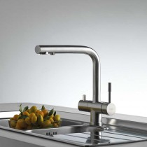 Zuben Mixer and Cold Filter With L Swivel Spout