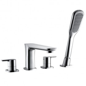 Urban Four Hole Bath Shower Mixer