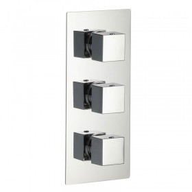 Bloque2 Two Outlet Thermostatic Shower Valve