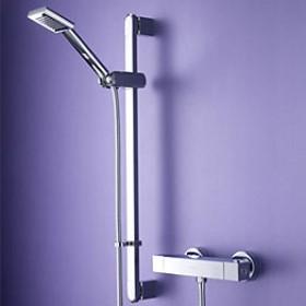 Quadrato Bar Shower with Swivel Adjustable Riser