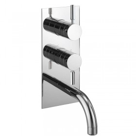 Design Thermo Shower Valve with Bathspout and Diverter