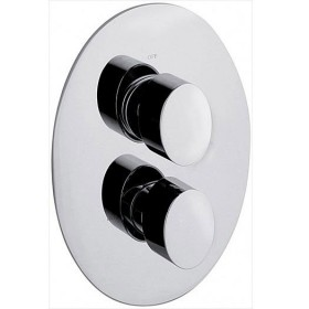 OV1 Recessed Thermostatic Shower Valve 2 Way