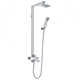 Essence Manual Shower With Rigid Riser, Handshower and Bath Spout