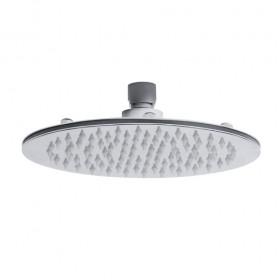 Round 200mm Thin Stainless Steel Shower Head