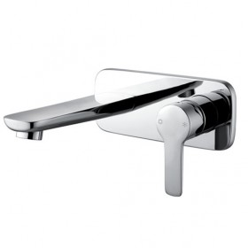 Urban Wall Mounted Basin Mixer