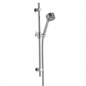Contemporary Riser Rail Kit With Three Function Handset