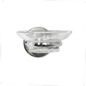 Wessex Glass Soap Dish & Holder