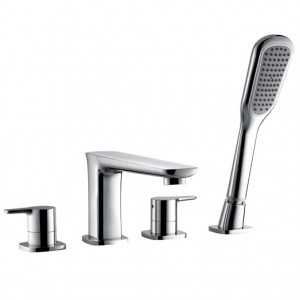 Urban Four Hole Bath Shower Mixer