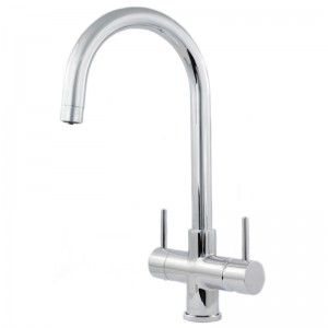 Verona 2 Lever Mixer And Cold Filter Tap Chrome