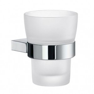 Air Wall Mounted Glass Tumbler And Holder