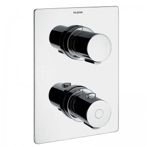 Annecy Concealed Thermostatic Shower Mixer with 3 Way Diverter