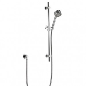 Contemperary Riser Rail Kit with Single Function Handset